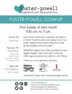 foster powell clean up event