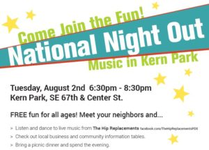 foster powell national night out