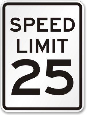 Holgate Blvd Speed Limit Set to 25 MPH